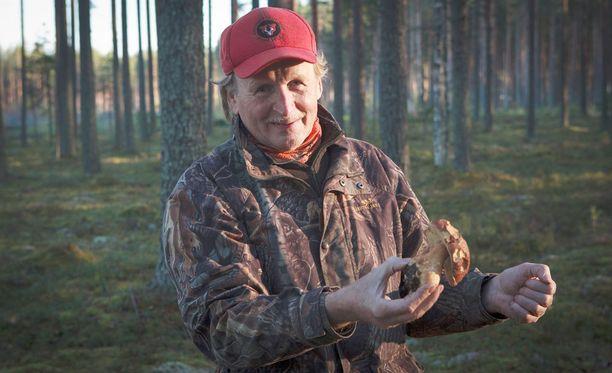 Yksittäin laskettuna Voutilainen on poiminut myyntiin toistasataa tuhatta tattia.