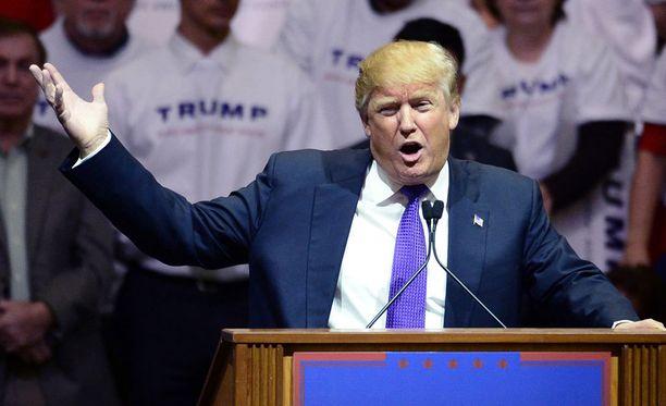 Donald Trump jatkaa voittokulkuaan.