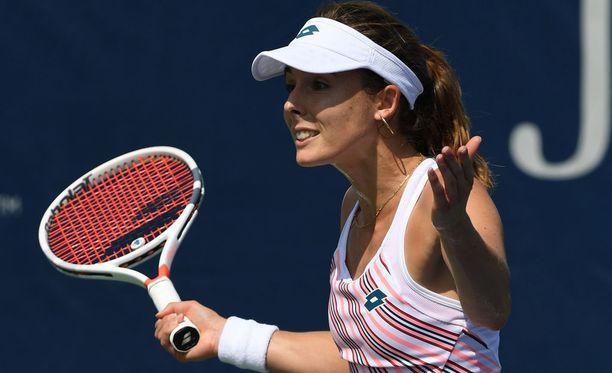 Alize Cornet ei voinut uskoa korviaan, kun kuuli Ranskan tennisliiton kommentteja.