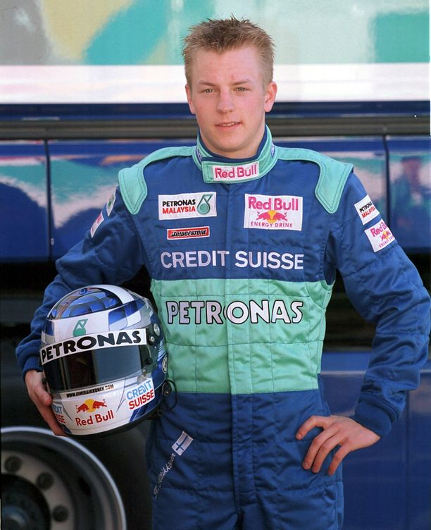 Kimi Räikkönen nousi formula ykkösiin 2001.