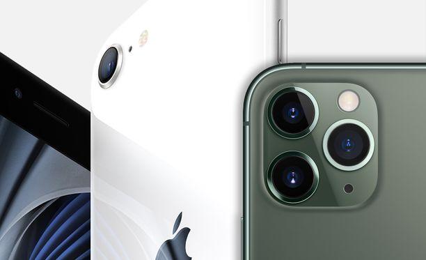 Myös kamerat on huomioitu IOS 14 -päivityksessä.