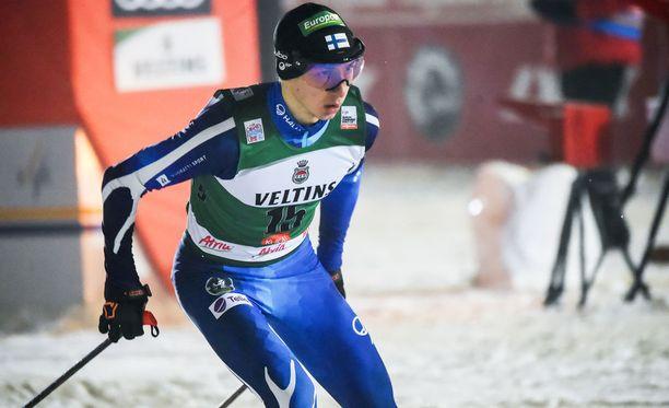 Ilkka Herola oli paras suomalainen Klingenthalissa.