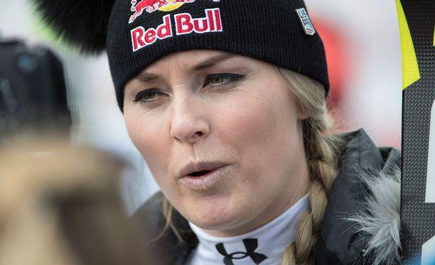 Lindsey Vonnilla on vauhdikasta treeniseuraa.