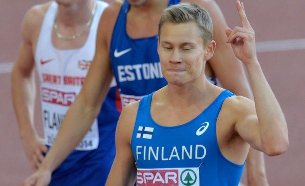 Oskari Mörö onnistui EM-kisojen semifinaalissa.