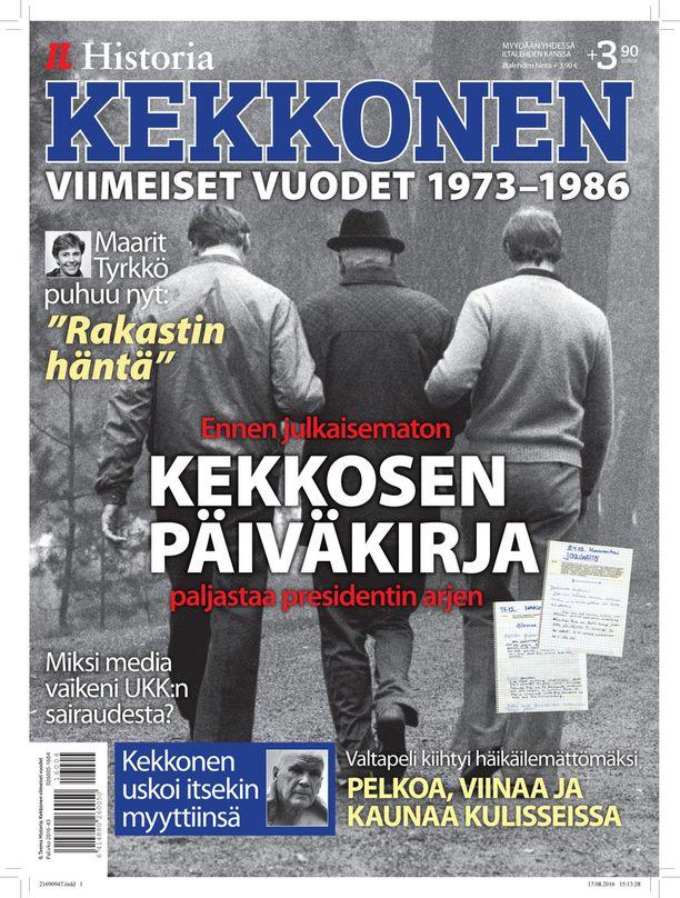 Lue lisää Kekkosesta Iltalehden erikoislehdestä, joka ilmestyy 25.8.2016.