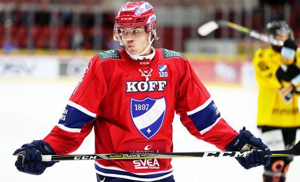 Miro Heiskanen on pelannut yli piste per peli -tahdissa.