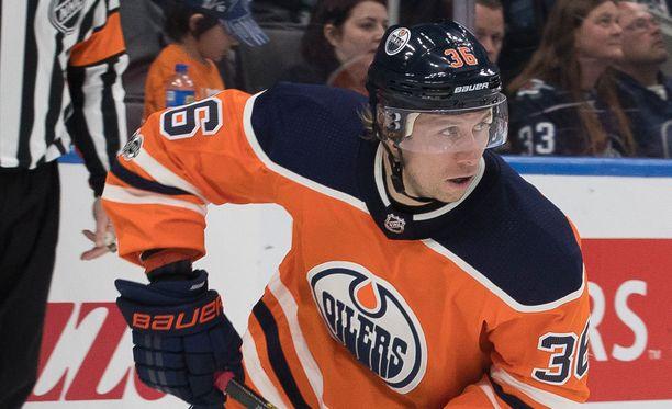 Jussi Jokinen on aloittanut Edmontonissa nihkeästi.
