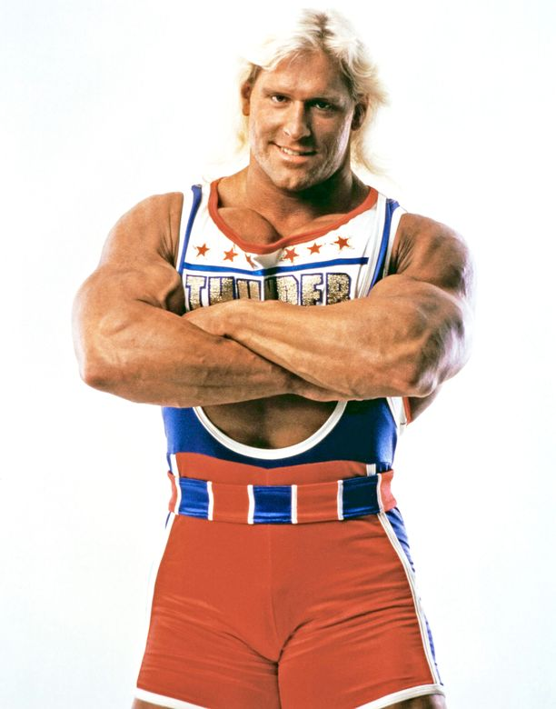 William Smithin Thunder-hahmo oli suosittu gladiaattori.