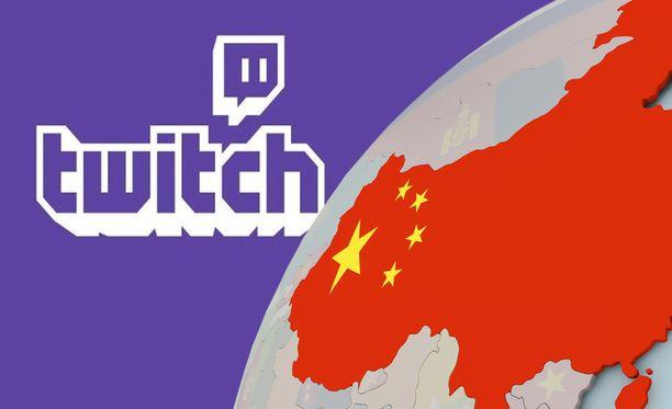 Twitch sai lähteä Kiinasta.