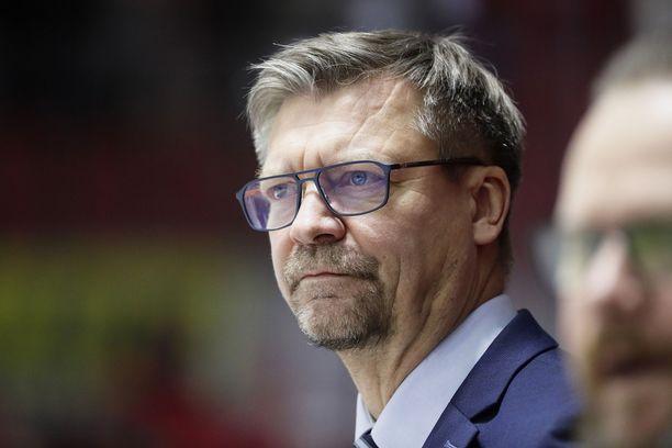Jukka Jalonen toimi ennen leijonapestejään SM-liigassa.