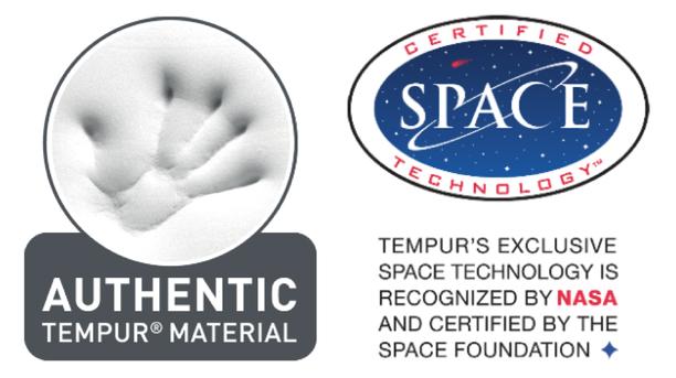 TEMPUR on NASAn tiedemiesten kehittämä pehmustemateriaali, joka suunniteltiin helpottamaan astronauttien kohtaamia G-voimia avaruuslentojen yhteydessä.