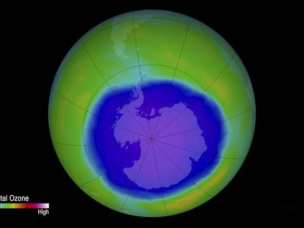 YK:n raportin mukaan otsonikerros on jatkanut toipumistaan.   All Over Press