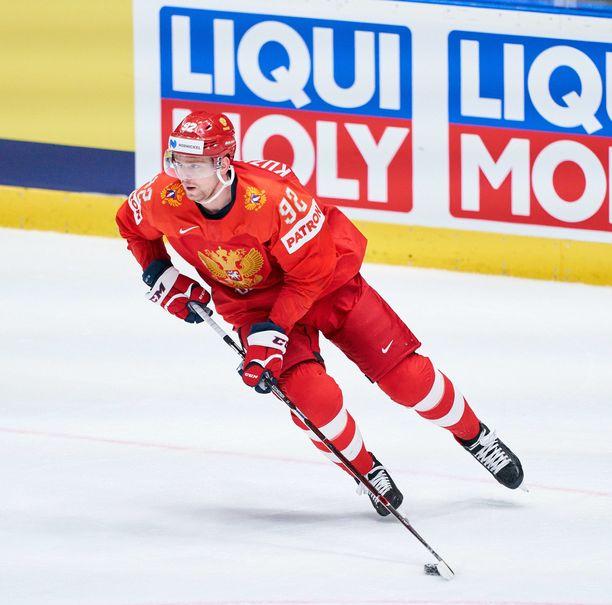 Jevgeni Kuznetsov sai pitkän pelikiellon.