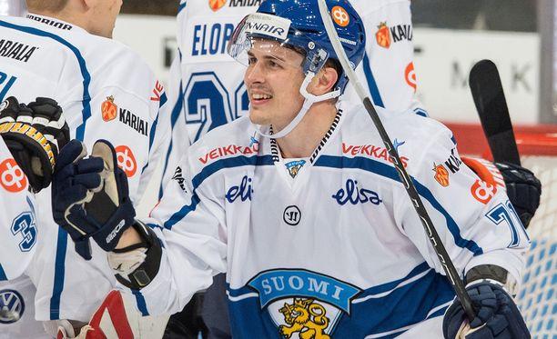 Kristian Kuusela on nähty Leijonien paidassa, mutta entä minkä SM-liigajoukkueiden?