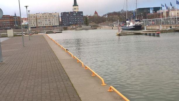 Ari Saarilammen pelätään hukkuneen satama-altaaseen Tallinnassa.