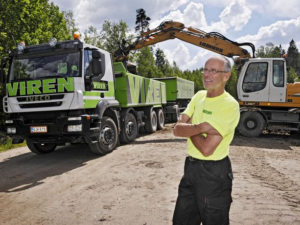 Lasse Virén työskenteli poliisina vuodet 1970-79. Nyt hän on mukana perheyrityksensä toiminnassa.