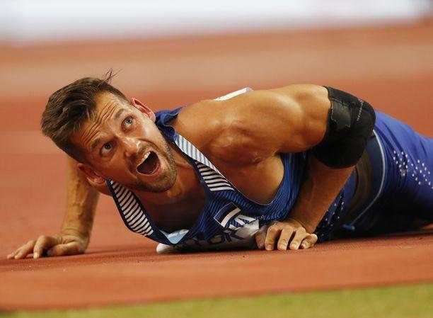 Viron olympiatoivo Magnus Kirt joutuu jättämään olympialaiset väliin.