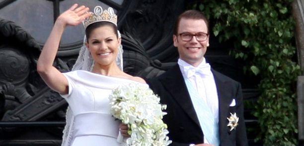 Victoria ja Daniel menivät naimisiin 19. kesäkuuta.
