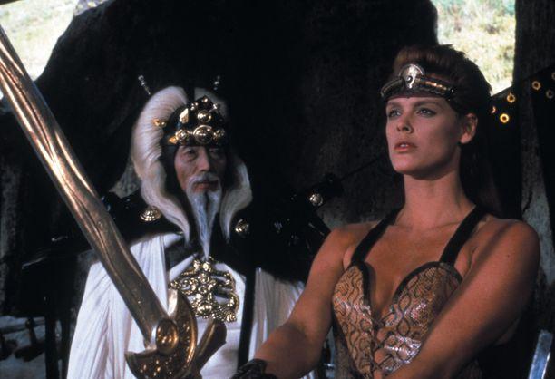 Nielsen oli yksi 1980-luvun kaunottarista valkokankaalla.