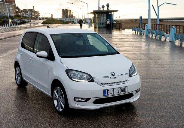 Skodan ensimmäinen sähköauto on saanut hinnan.