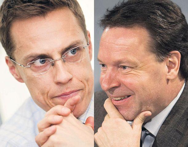 Uusi ulkoministeri Alexander Stubb ei olisi nyt Pekingiin lähdössä. Ilkka Kanerva pääsee linjaamaan ulkopolitiikkaa eduskunnan ulkoasiainvaliokuntaan ja Pekingin kisoihin urheilupomona.