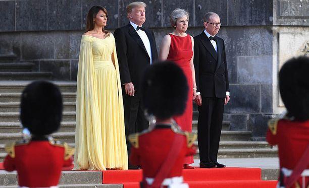 Donald Trump myöntää, ettei tunne itseään tervetulleeksi Lontooseen.