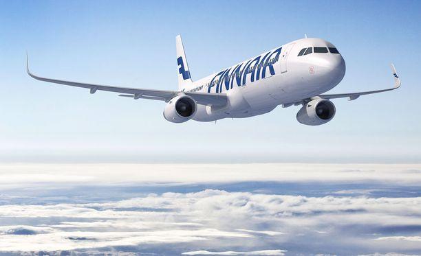Finnairin lennoilla voi varata ennakkoon mieleisensä istumapaikan, lisämaksusta.