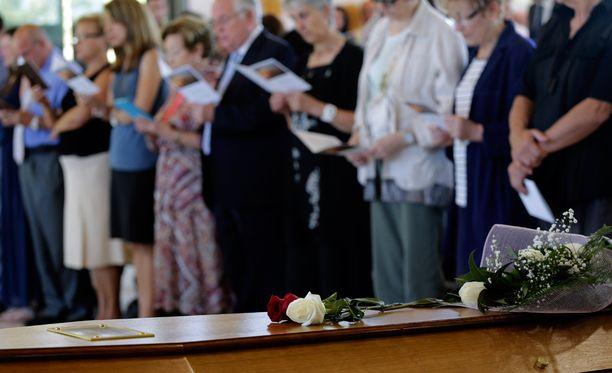 Germanwingsin maanahsyöksyssä menehtyneen espanjalaismiehen hautajaiset pidettiin Barcelonassa viime viikolla.
