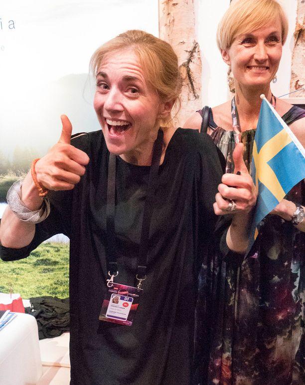 Ruotsin viisupäällikkö oli tyytyväinen lopputulokseen.