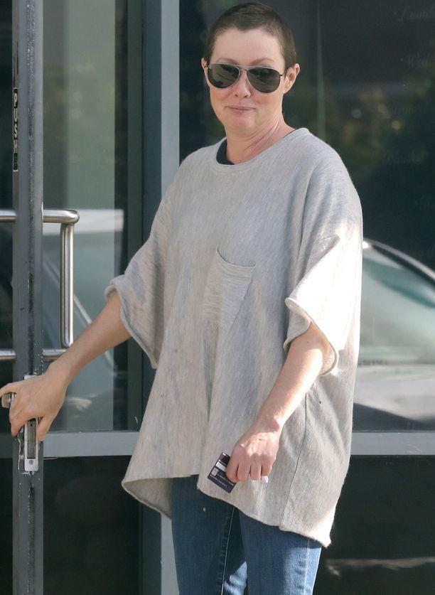 Shannen Doherty kävi tammikuussa viimeistä kertaa sädehoidossa.