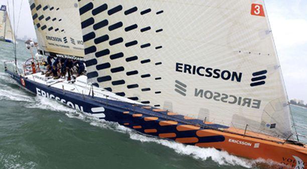 Ericsson 3 korjataan Taiwanissa.