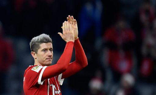 Robert Lewandowski ratkaisi Bayernille.