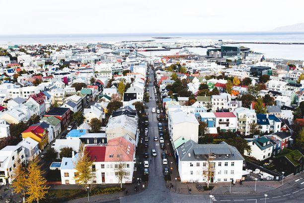 Reykjavikissa pääsee joka paikkaan jalan tai polkupyörällä.