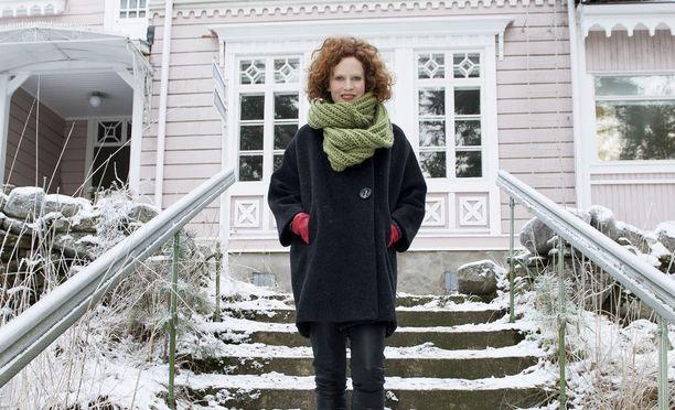 Saimi Hoyer palkittiin työstään historiallisen Hotelli Punkaharjun nostamisesta nykyaikaiseksi matkailukohteeksi.