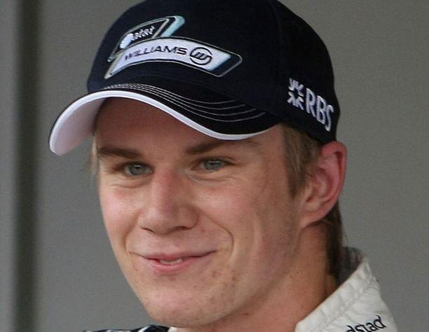 Nico Hülkenbergin suoritukset eivät riittäneet Williams-pomoille.