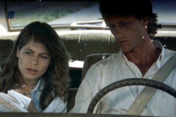 Linda Hamilton ja Peter Horton vuonna 1984.