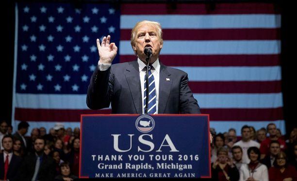 Donald Trumpin ei CIA:n arvioon siitä, että Venäjä pyrki vaikuttamaan presidentinvaalien lopputulokseen.