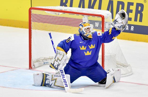 Henrik Lundqvist on ollut Slovakian MM-turnauksessa Ruotsin ykkösvahti.
