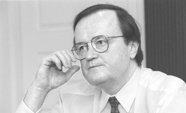 Matti Packalén kuvattuna vuonna 1997.