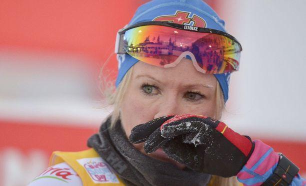 Huippu-urheilu ja äitiys ovat kulkeneet Riitta-Liisa Roposen elämässä rinta rinnan.