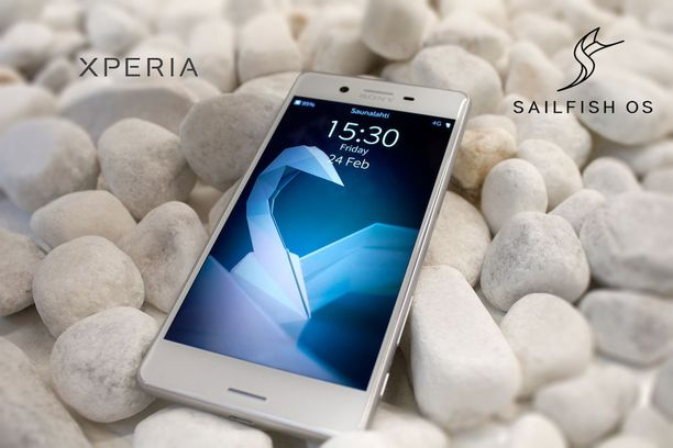Uusi Jollan Sailfishillä pyörivä Sony-puhelin tulee myyntiin vuoden toisella neljänneksellä.