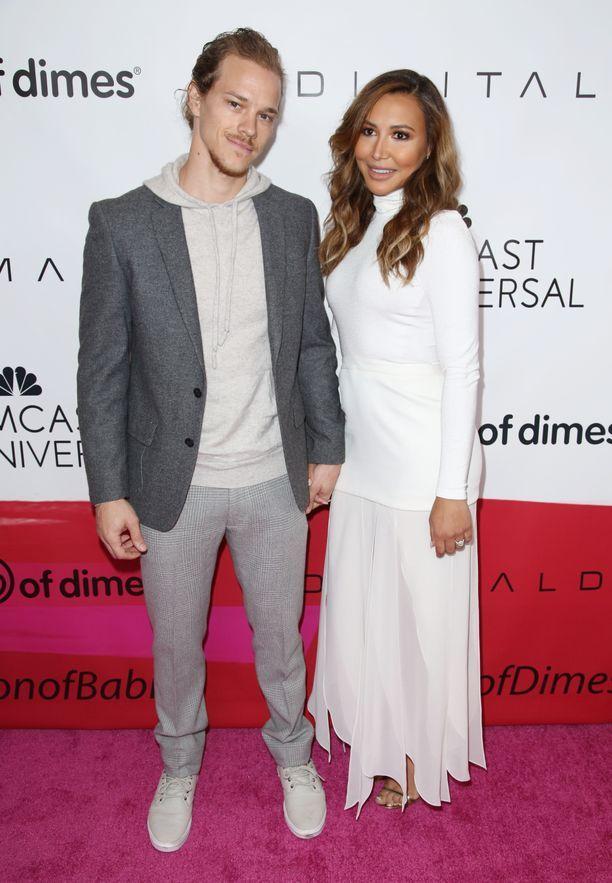 Ryan Dorsey ja Naya Rivera erosivat vuonna 2018.