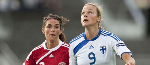 Laura Österberg-Kalmari oli totutusti Suomen avainpelaajia.