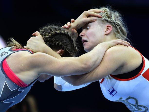 Petra Olli väänsi keskiviikkona MM-kultaa.