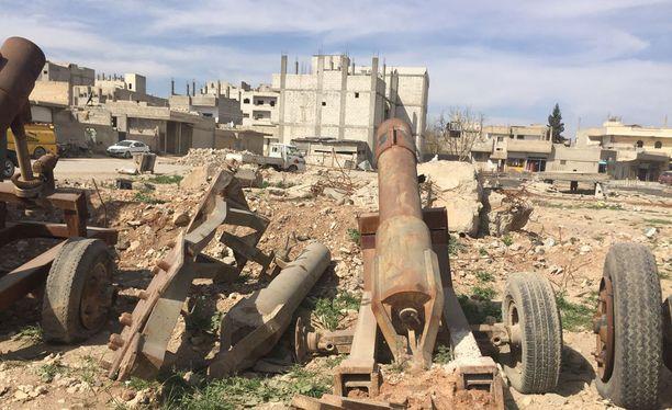 Aleppo maaliskuussa 2017.