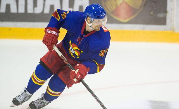 Niko Kapasen Jokerit hävisi KHL-avauksensa.