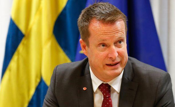 Ruotsin sisäministeri Anders Ygeman.