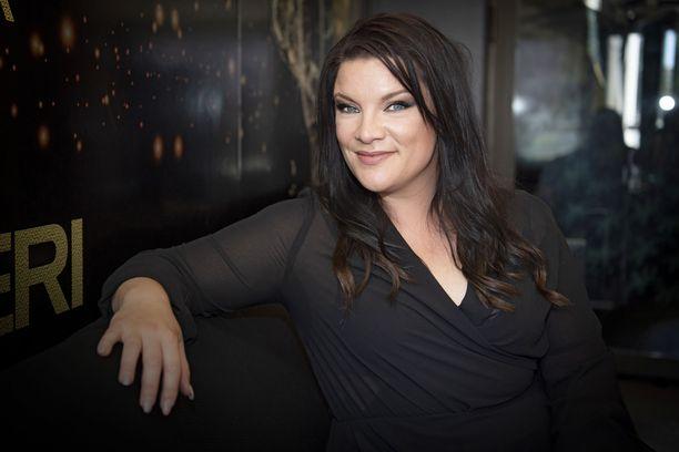 Hanna Pakarinen on edustanut Suomea myös Euroviisuissa.