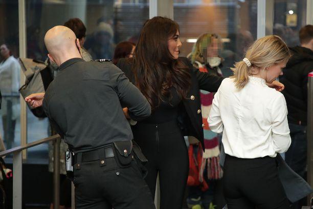 Sofia Belórf saapui Helsingin käräjäoikeuteen ensimmäistä kertaa tammikuussa, tuolloin alkoi Katiska-käräjien pääkäsittely.
