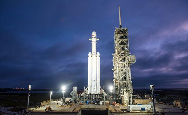 SpaceX laukaisi avaruuteen Falcon-rakettinsa joulukuun 28. viime vuonna Cape Canaveralista Floridasta.